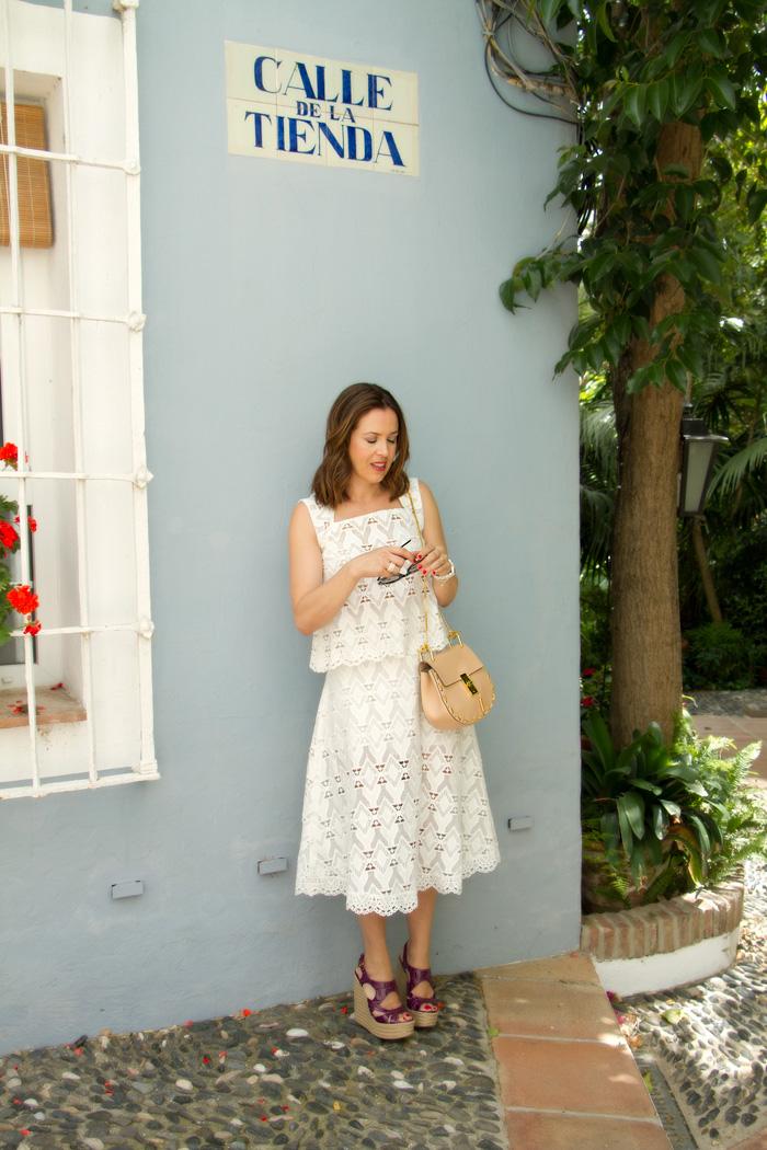 falda larga de maje blog moda cuarenta